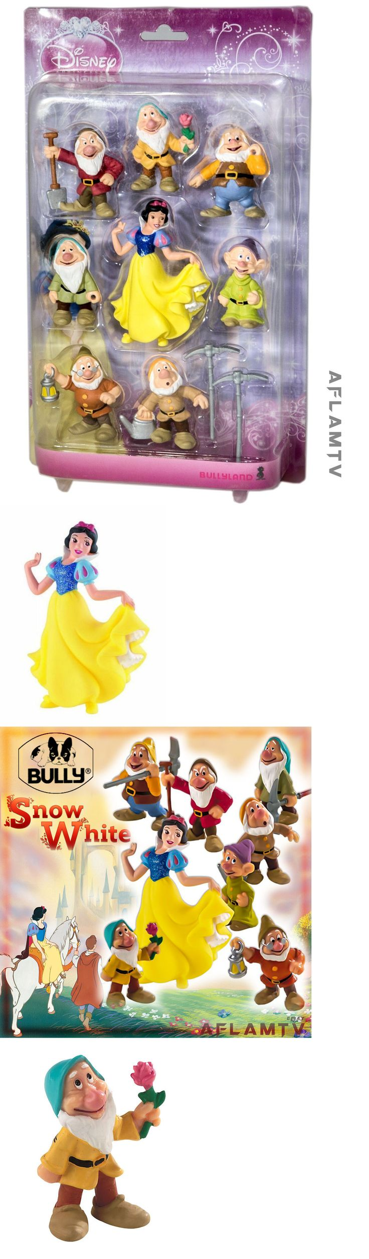 Snow White 19222: Snow White And The Seven Dwarfs Bullyland Figures Cake Toppers Disney Princess -> BUY IT NOW ONLY: $85.49 on eBay!