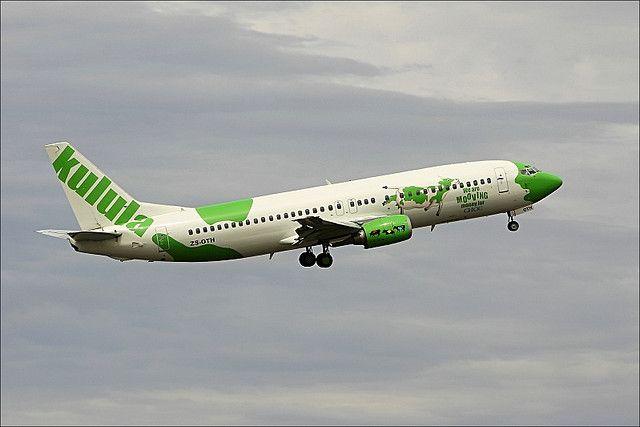 Kulula Airlines, la aerolínea más divertida.