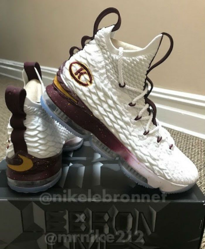 1912d67a111 Nike LeBron 15 Christ the King CTK PE | Kicks | Nike, Sneakers nike ...