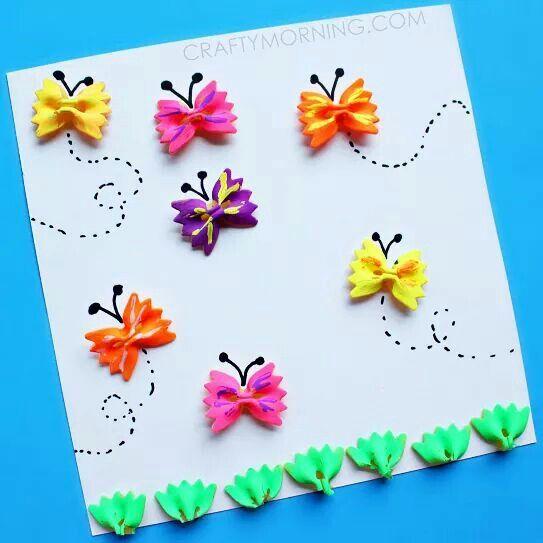 Macarrones- mariposas