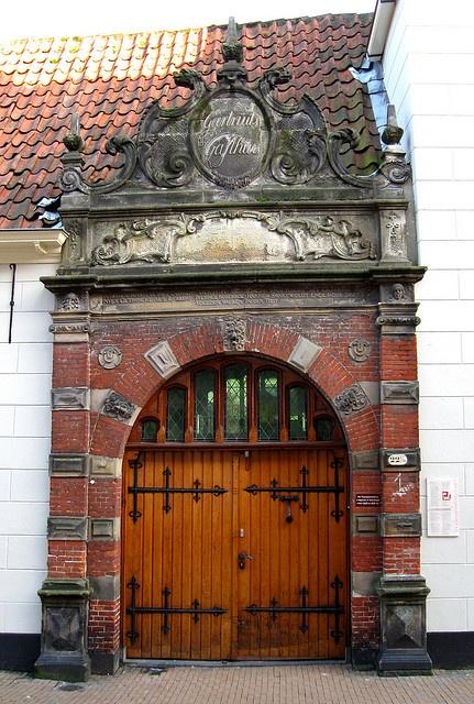 Groningen, Netherlands~Old Door photo by carina 10, via Flickr