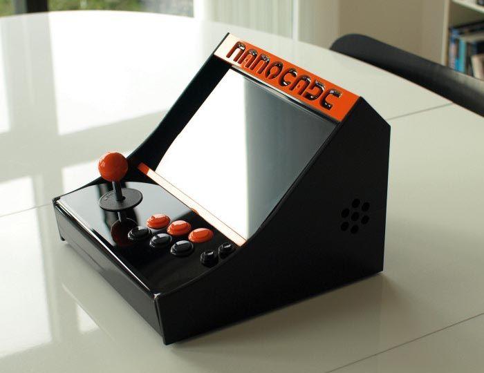 Make Your Own Nanocade Mini Arcade Cabinet