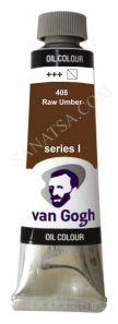 Talens Van Gogh Yağlı Boya 40 ml. 408 Raw Umber