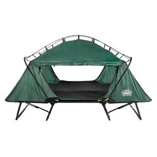 Kamp-Rite TB343 Double Tent Cot with Rainfly | Overstock.com Shopping - The Best Deals on Cots, Airbeds, & Sleeping Pads