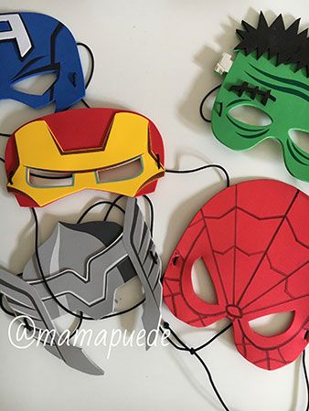 Máscara de Spiderman, DIY
