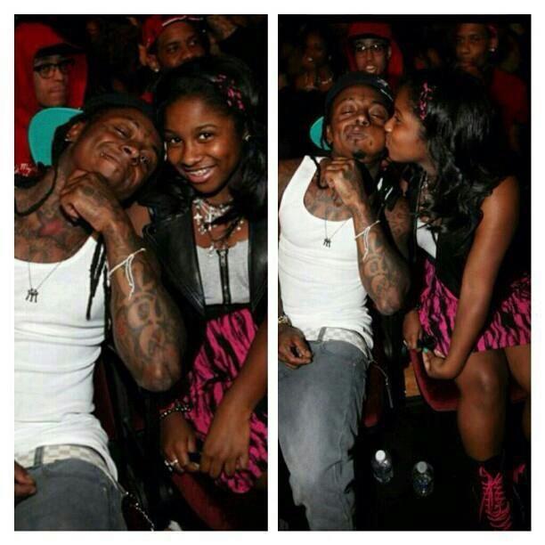 Lil'Wayne and daughter, Reginae | rap | Pinterest
