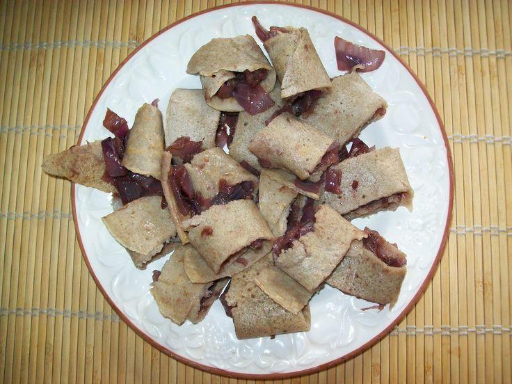 Rotolini con cipolle al vino - Pag. 67 - Il grande libro delle ricette per la dieta dei gruppi sanguigni - Marilena D'Onofrio - L'Età dell'Acquario