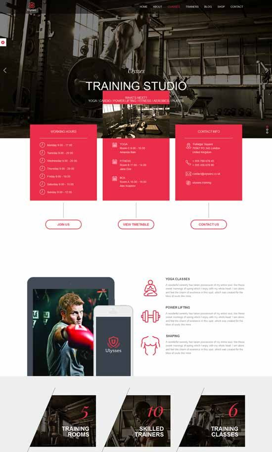 17 best Free Sport HTML Templates images on Pinterest | Website ...