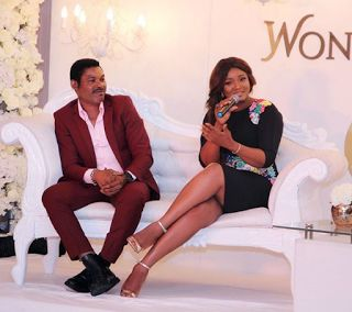 Omotola and her hubby Captain Ekehinde exuded style as they attended BN Wonderland event over the weekend.Omotola who rocked a Makioba outfit was was styled by Moashystyling. Photos below:  Dope couple Omotola and hubby in style