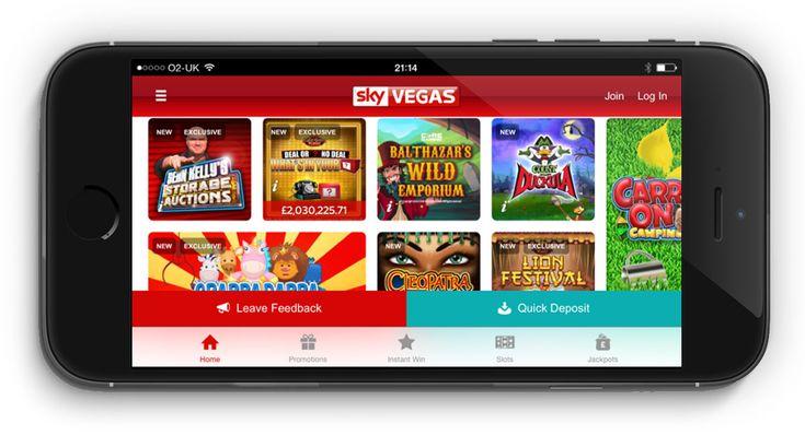 Sky Vegas Casino Review & Mobile Games