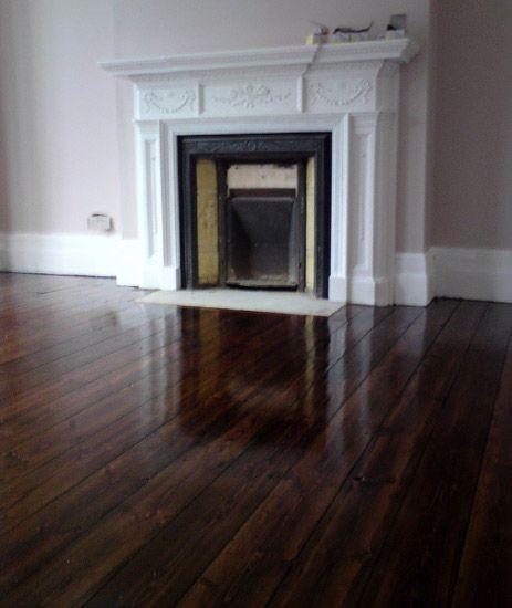 Dark Stained Oak Floors: Dark Oak Floorboards Stain And Varnish