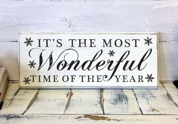 Christmas Home Decor It 39 S The Most Wonderful Time Of The
