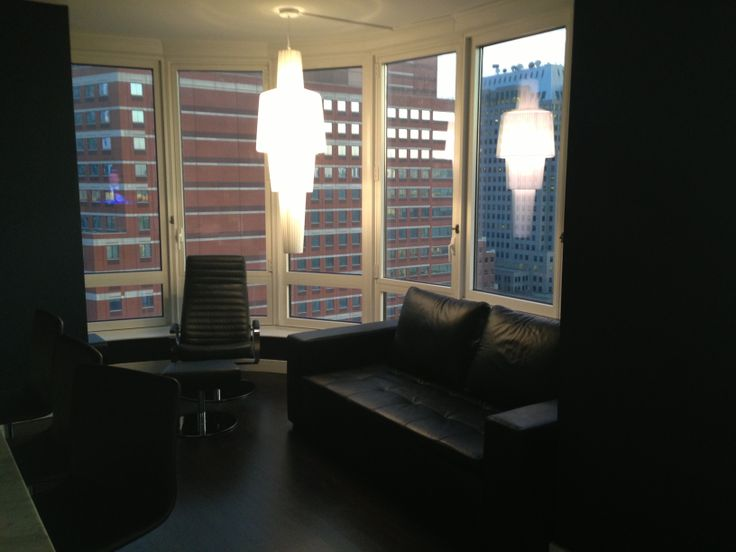 Boconcept Trap Lamp Detail Condo In Downtown Brooklyn Ny