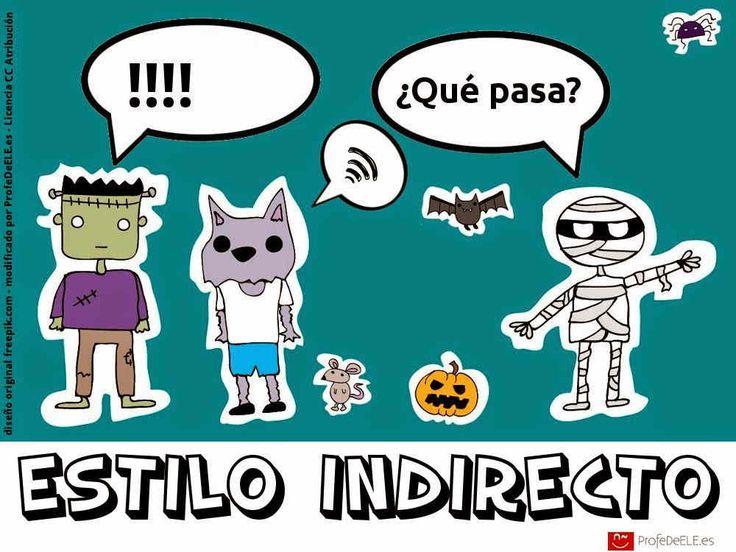 El estilo indirecto es una forma de hablar que se utiliza para reproducir un mensaje que se ha dicho en otro momento.