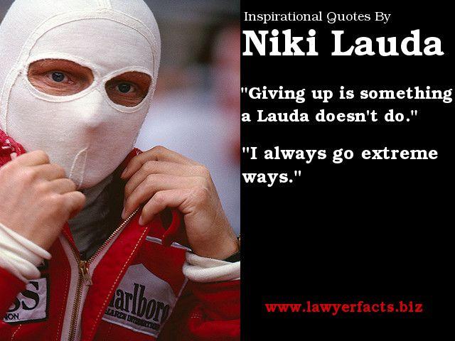 Niki Lauda Movie Quotes QuotesGram