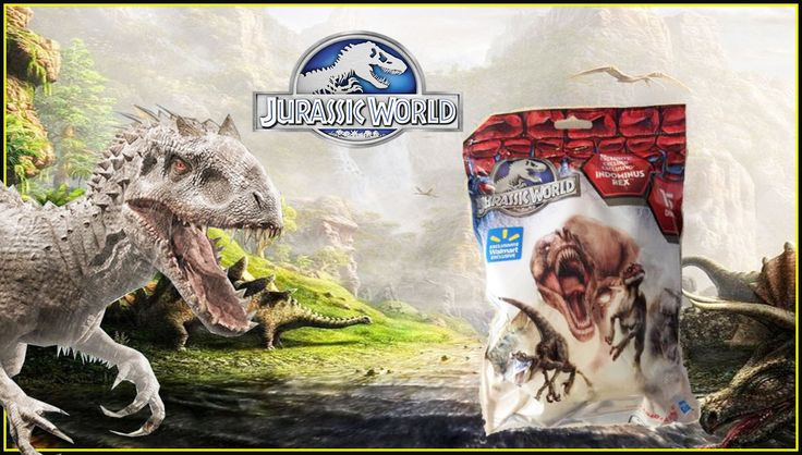 Jurassic world Surprise Jurassic World Sorpresas