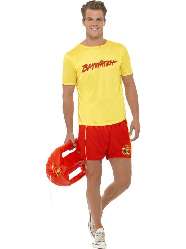 Baywatch Lifeguard Fancy Dress Costume Beach