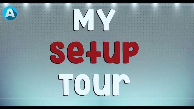 MY SETUP TOUR (Entire Room - December 2016)