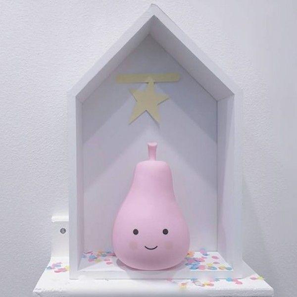 Nachtlampje Peer Pastel Roze