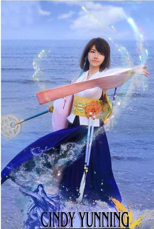 yuna cosplay  ffx