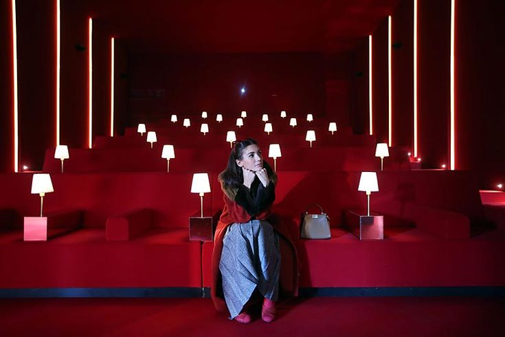 """Palazzo della Civilità Italiana, Fendi's headquarters in Rome, has been transformed into a film studio where visitors can enjoy a digital experience that allows them to """"participate"""" in film scenes and discover the House's iconic creations. It is a fascinating journey, where the visitors become..."""