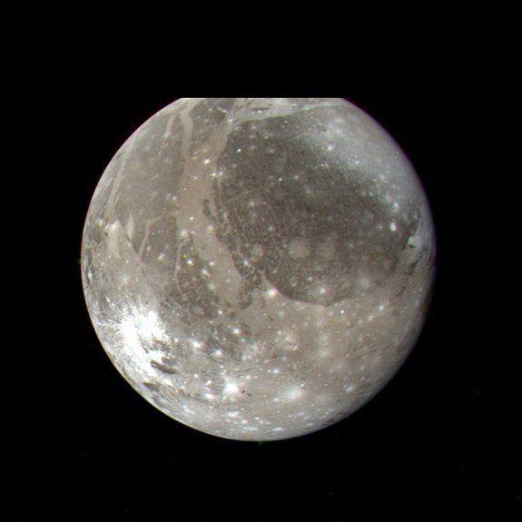 Jupiter's Ganymede: Hubble Reveals a Buried Ocean 100 Kilometers Deep 3/12/15