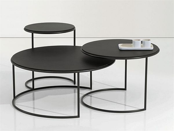 Metal Coffee table. Tisettanta Design lab