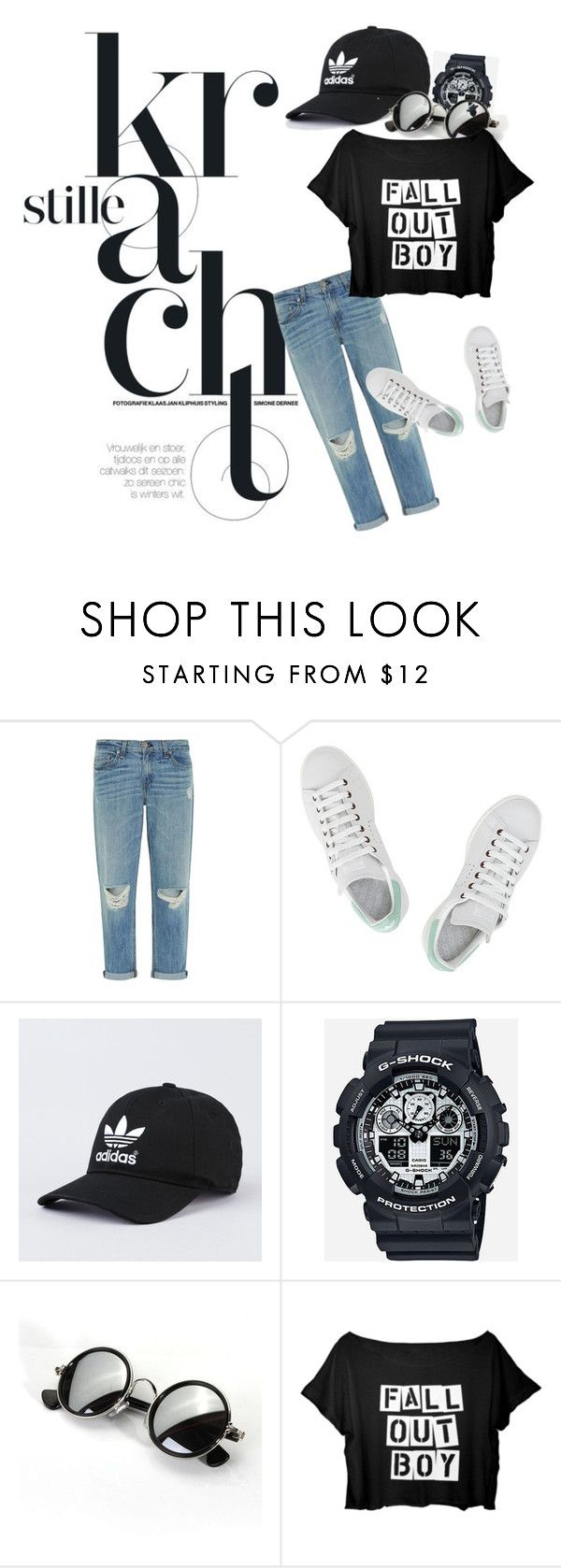 """""""street style"""" by zahrohusna on Polyvore featuring rag & bone, adidas, G-Shock, StreetStyle, MyStyle, GoodLooking and polivore"""