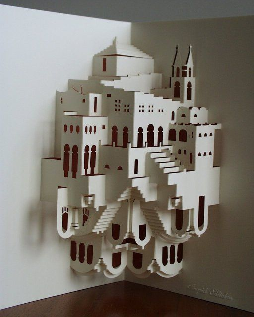Fantastic Kirigami Architecture