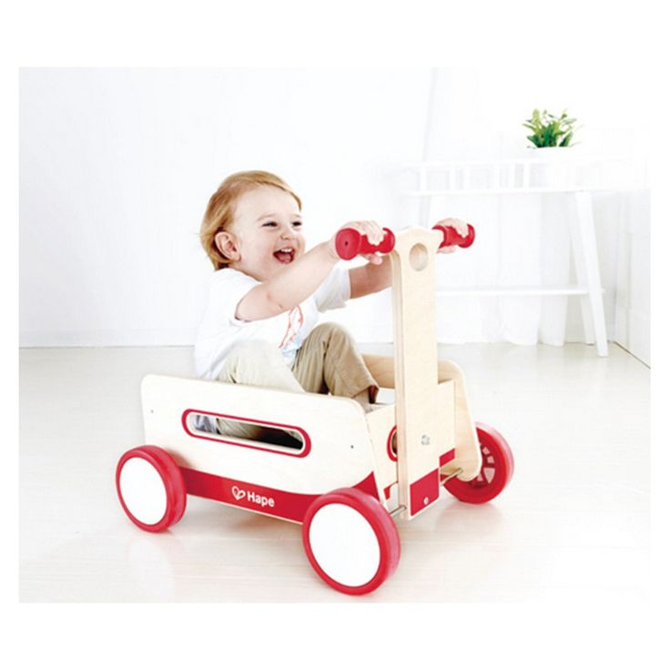 Hape | Wonder Wagon | Entropy This will be great once my littliest person gets mobile. #EntropyWishList #PinToWin