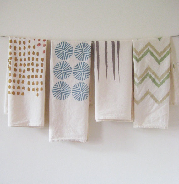 PHOEBE STOUT of UNTOLD IMPRINT, handprinted textiles. Learn about her process at Poppytalk http://bit.ly/tluD1q