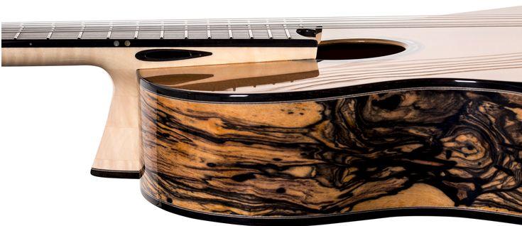 Beautiful & Unusual Classical Guitars - Episode 3: 'Black Diamond' (Rafa? Turkowiak)