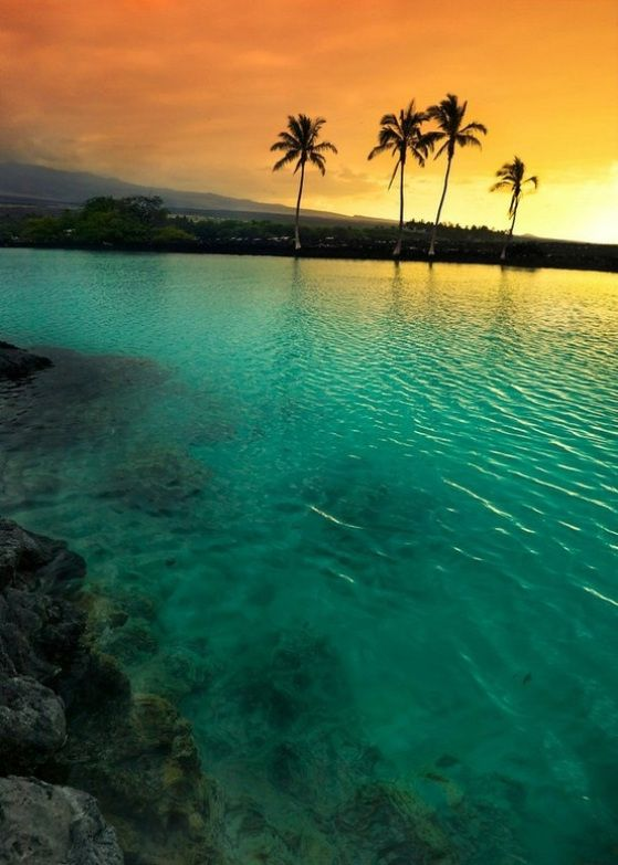 Big Island, as the name suggests is the largest island in United States and is still growing. Big island is youngest island in the Hawaiian chain and is home of five volcanoes, two out of which are the most active volcanoes in the world.