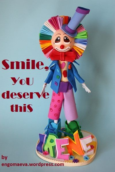 Tarjetas Positivas, Tarjetas para Regalar:  Smile, YoU deserve thiS http://engomaeva.wordpress.com/