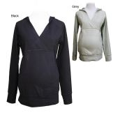 @Overstock - Stay comfortable and stylish with a Belly Button maternity hoodie  Women's top features long-sleeves and a criss-cross V-neck  Maternity sweater is made of soft, comfortable fabrichttp://www.overstock.com/Baby/Belly-Button-Womens-Maternity-Hoodie/4425010/product.html?CID=214117 $34.99