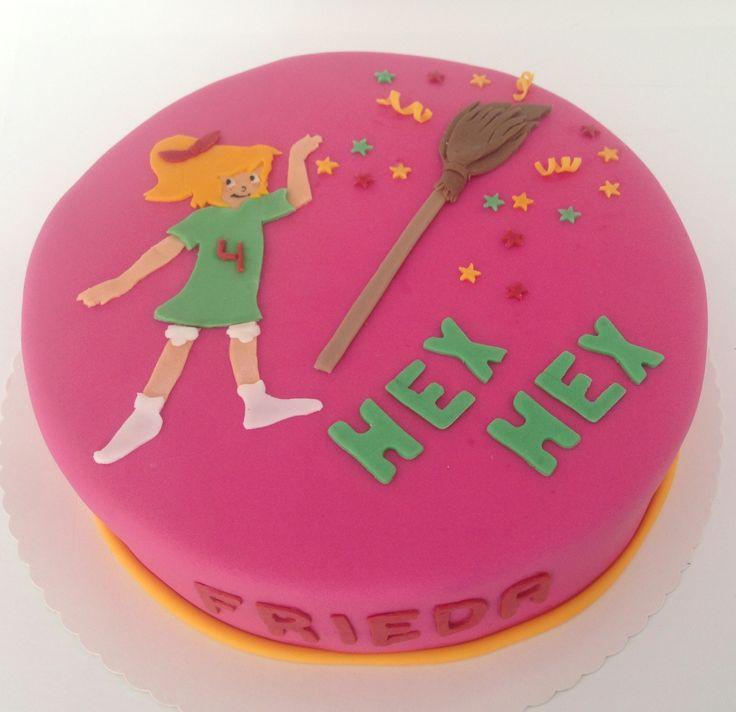 Bibi blocksberg cake