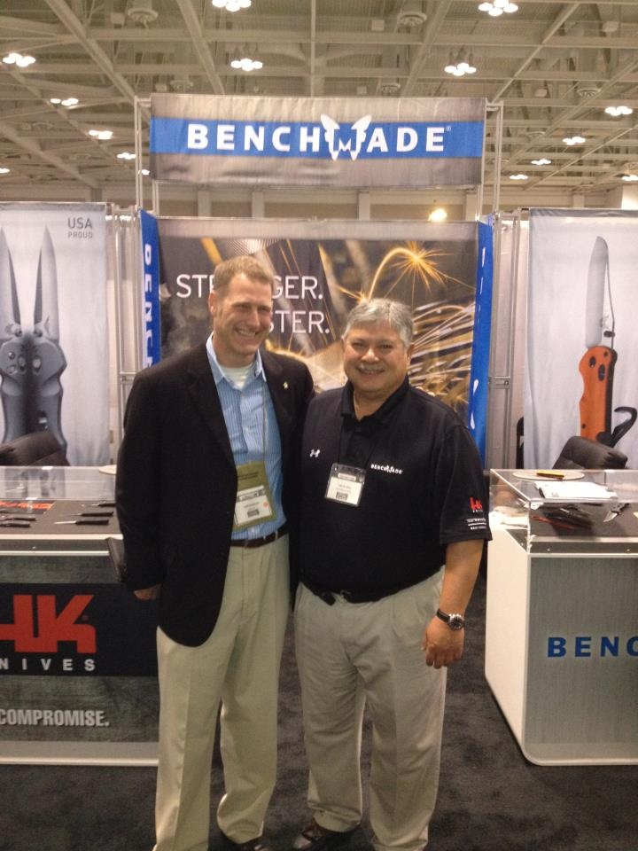 Benchmade Knives CEO/Owner Les de Asis with Justin Boyle