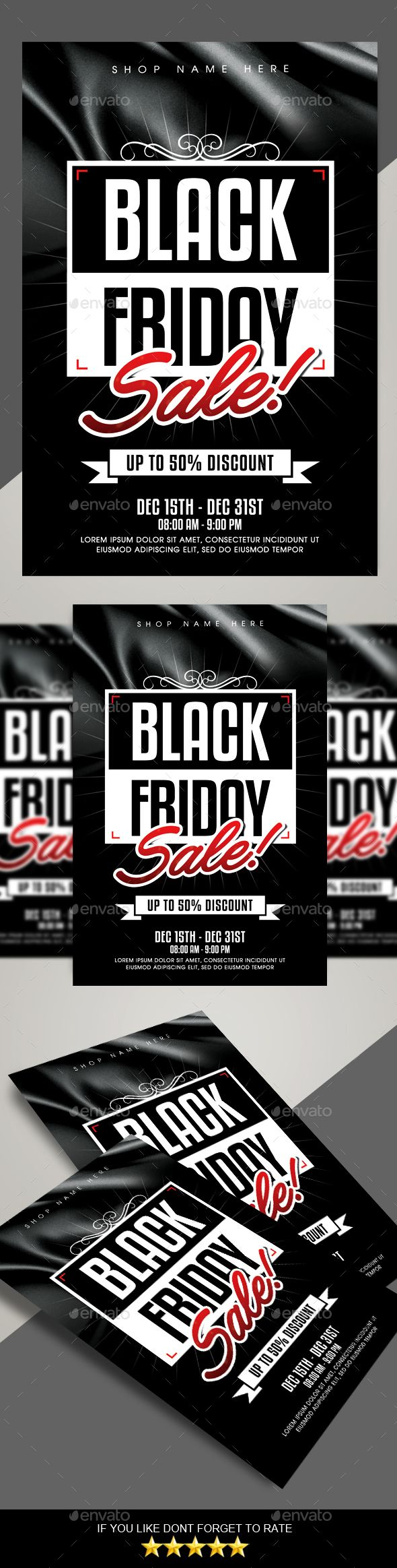 #Black #Friday Sale #Flyer - Commerce Flyers