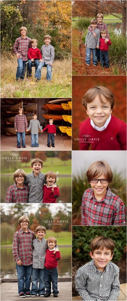 Brother Posing, Holiday Children Pictures, Child Photography, Bold Color Photography, Boys Session  Holly Davis Photography | The Woodlands, TX