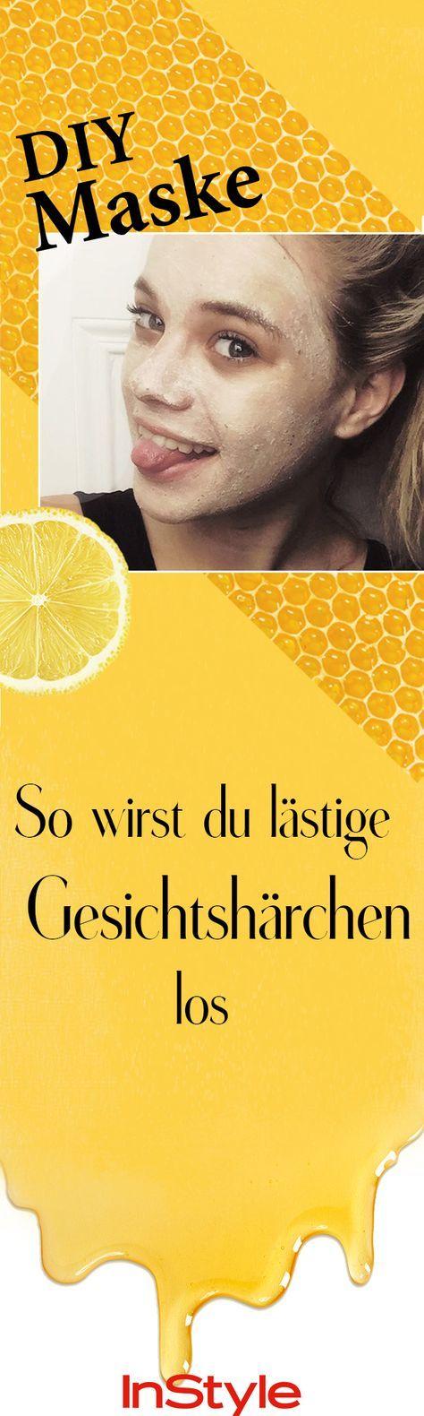 Mit einer Honig-Zitronen-Maske Gesichtshärchen zu entfernen, ist nicht neu – …