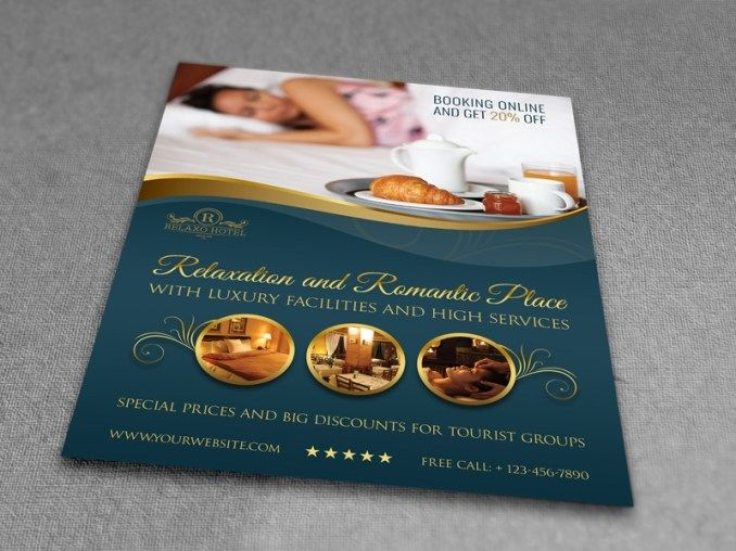 Free Hotel Flyer Templates Flyer Template Free Hotel Free
