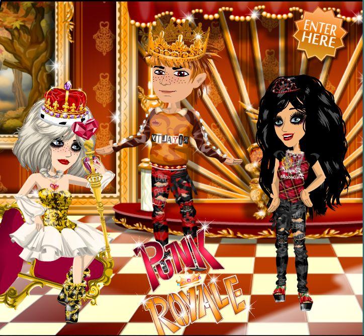 Get your #punk fashion on with the Punk Royale theme on #moviestarplanet #MSP www.moviestarplanet.com