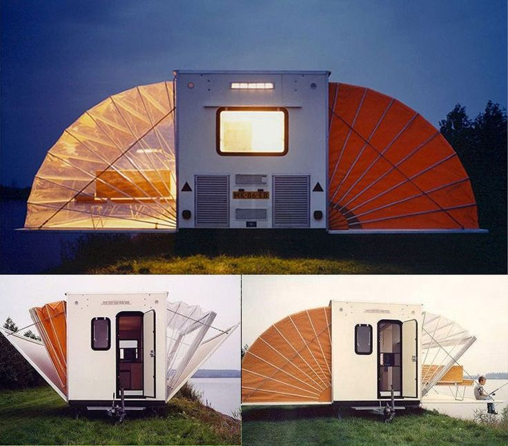 If It's Hip, It's Here: The Urban Campsite's Coolest Caravan, The Marquis by Eduard Bohtlingk.