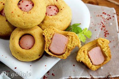 Di gotuje: Corn Dog Muffins (kukurydziane muffinki z parówką)...