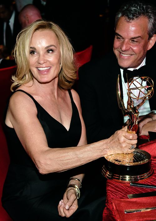 American Horror Story - Jessica Lange and Danny Huston