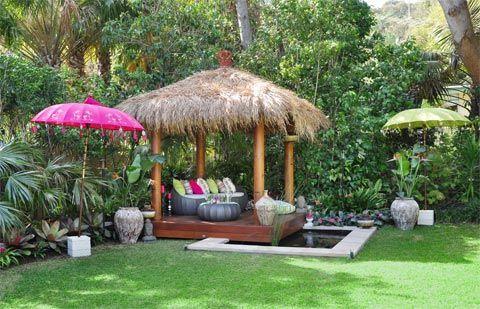 Pattern sheet: Balinese Summer retreat