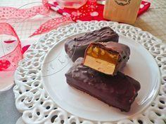 Snickers Hime made. La version fait maison des célèbres barres chocolatées aux cacahuètes!