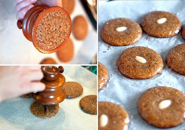 Herstellung der Elisenlebkuchen mit einer Lebkuchenmühle
