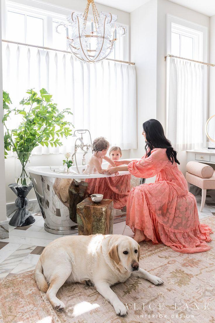 Best Rachel Parcell S Master Bathroom Alice Lane Interior 400 x 300