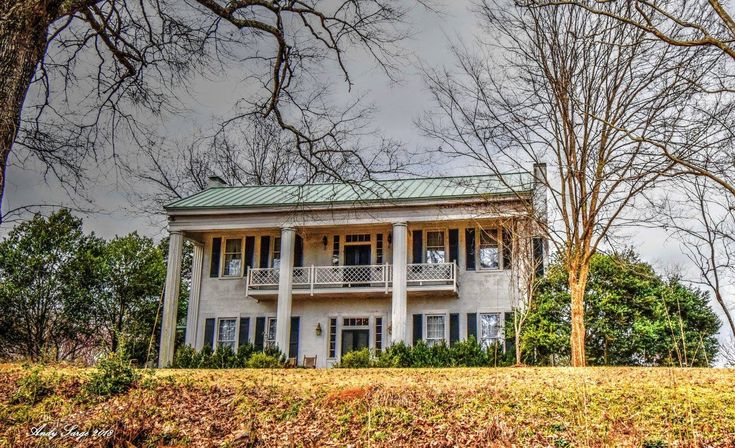 Liberty Hill in Troup County, circa 1836. The cotton plantation was bought in 1835 by John T Boykin.  Photo by Andy Sarge